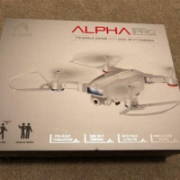 Avier Alpha Pro Foldable Drone With Dual Wifi Cameras